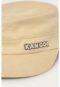 Beżowa czapka z daszkiem Kangol