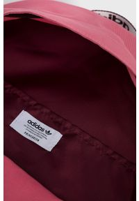 adidas Originals - Plecak. Kolor: różowy. Materiał: materiał