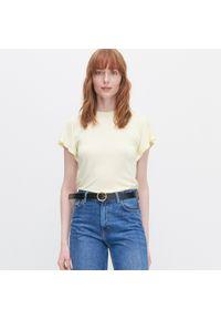 Żółta bluzka Reserved