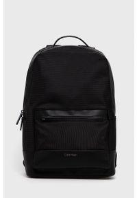 Calvin Klein - Plecak. Kolor: czarny. Materiał: poliester
