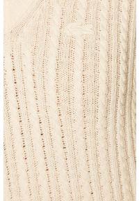 Biały sweter Lacoste