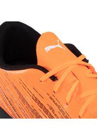 Pomarańczowe halówki Puma z cholewką