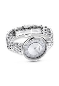 Swarovski - Zegarek 5544583. Kolor: srebrny. Materiał: materiał