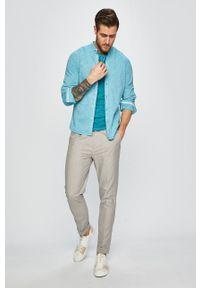 medicine - Medicine - Spodnie Oceans Blue. Kolor: szary. Materiał: tkanina. Wzór: gładki