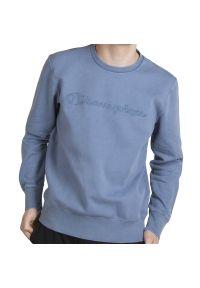 Champion Script Logo Sweatshirt > 215207-BS125. Materiał: polar, bawełna. Długość rękawa: długi rękaw. Długość: długie. Wzór: aplikacja. Styl: klasyczny