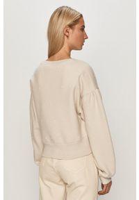 AllSaints - Bluza. Kolor: szary