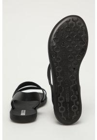 Czarne sandały Ipanema bez obcasa, gładkie #4
