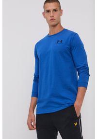 Under Armour - T-shirt/polo 1329585. Typ kołnierza: polo. Kolor: niebieski