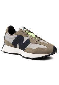 New Balance Sneakersy MS327IB Zielony. Kolor: zielony
