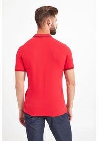 Koszulka polo Emporio Armani sportowa, z nadrukiem