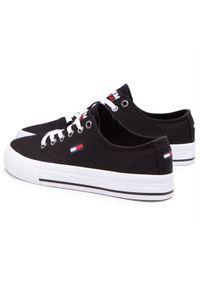 Czarne trampki Tommy Jeans