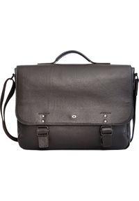 DAAG - Torba daag Skórzana torba/teczka na laptopa unisex Daag Shaker 33 brązowa. Kolor: brązowy. Materiał: skóra