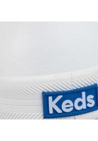 Białe półbuty Keds z cholewką, na płaskiej podeszwie #7