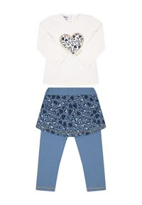 Primigi Komplet bluza i legginsy Mountain Glam 44191541 Kolorowy Regular Fit. Wzór: kolorowy