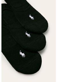 Czarne skarpetki Polo Ralph Lauren