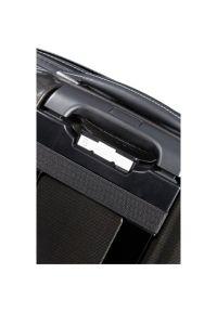 Czarna torba na laptopa Samsonite w kolorowe wzory, klasyczna