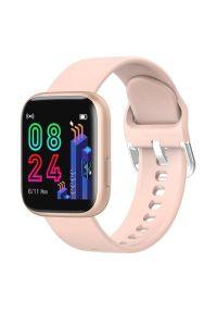 Złoty zegarek GARETT smartwatch