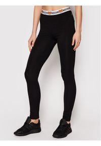 Moschino Underwear & Swim - MOSCHINO Underwear & Swim Legginsy ZUA4311 9003 Czarny Slim Fit. Kolor: czarny