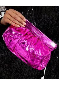 ISABEL MARANT - Różowa torebka Luzes. Kolor: fioletowy, różowy, wielokolorowy. Rodzaj torebki: na ramię