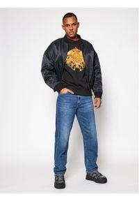 Versace Jeans Couture Bluza B7GWA741 Czarny Regular Fit. Kolor: czarny