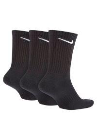 Skarpety Nike Everyday Cushion Crew SX7664. Materiał: nylon, bawełna, materiał, tkanina, włókno, poliester. Sport: fitness