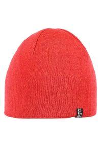 Czerwona czapka Spree klasyczna, na zimę