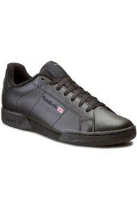 Czarne buty sportowe Reebok z cholewką, na co dzień