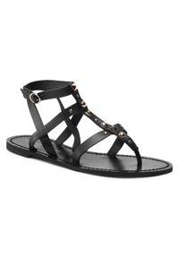 Czarne sandały Sergio Bardi