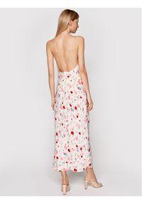 Samsoe & Samsoe - Samsøe Samsøe Sukienka letnia Apples Ml F21100108 Różowy Slim Fit. Kolor: różowy. Sezon: lato #4