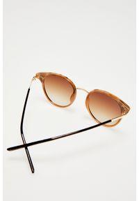 Okulary przeciwsłoneczne MOODO z motywem zwierzęcym