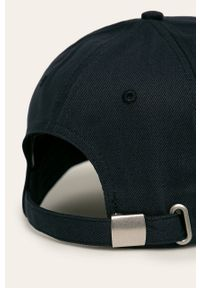 Niebieska czapka z daszkiem JOOP! gładkie