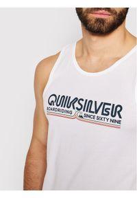 Biały tank top Quiksilver