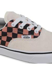 Vans - Tenisówki VANS - Classic Slip-On VN0A3WM91PC1 (Chkrbrd) Nabulas Bl/Trwht. Zapięcie: bez zapięcia. Kolor: beżowy. Materiał: materiał. Szerokość cholewki: normalna. Model: Vans Classic
