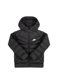 Czarna kurtka puchowa Nike