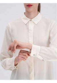 Beżowa koszula DKNY
