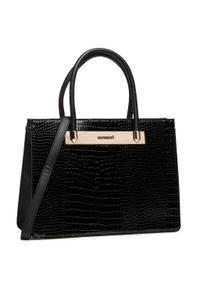 Czarna torebka klasyczna Monnari skórzana