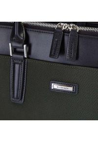 Zielona torba na laptopa Wittchen