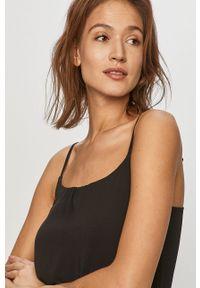 Czarna sukienka only casualowa, maxi, na ramiączkach