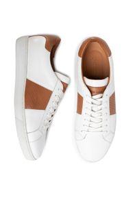 Białe sneakersy Gino Rossi z cholewką, na co dzień