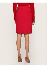 Czerwona spódnica BOSS