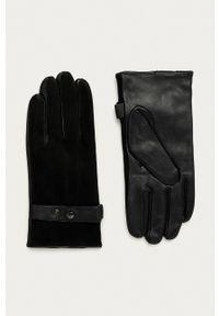 JOOP! - Joop! - Rękawiczki skórzane. Kolor: czarny. Materiał: skóra