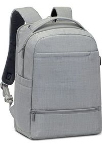 """Plecak RivaCase RIVACASE Biscayne 8363 Plecak laptop 15,6"""" szary. Kolor: szary"""