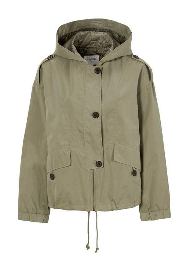 Cream Krótka kurtka Shana khaki female zielony 46. Kolor: zielony. Długość: krótkie. Sezon: wiosna