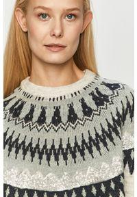 Szary sweter Jacqueline de Yong z aplikacjami, na co dzień #5
