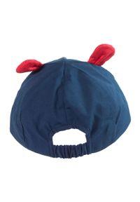 Niebieska czapka z daszkiem Jamiks