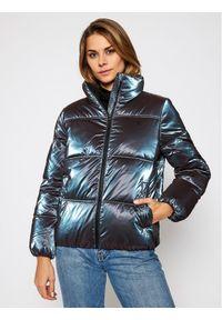 Fioletowa kurtka puchowa Calvin Klein Jeans