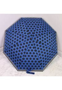 Parasol składany DOPPLER PA142 granatowy. Kolor: niebieski. Materiał: materiał