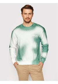 Jack & Jones - Jack&Jones Bluza Chulu 12195330 Zielony Oversize. Kolor: zielony