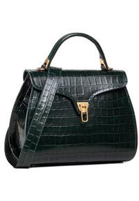Zielona torebka klasyczna Coccinelle