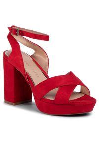 Czerwone sandały Jenny Fairy klasyczne